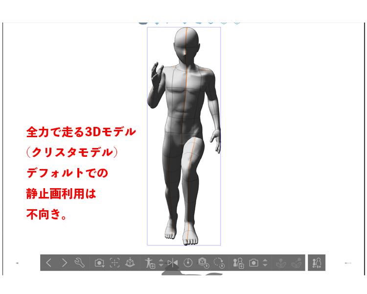 3D人形の弱点